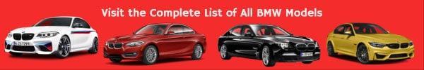 BMW list of car models