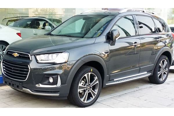 Chevrolet Captiva Car model review