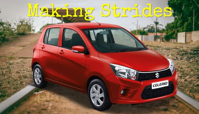 Making Strides suzuki celerio