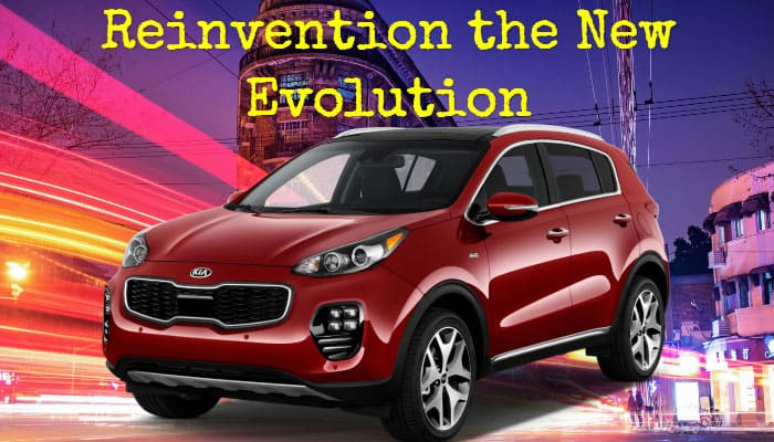 Reinvention the New Evolution Kia Sportage