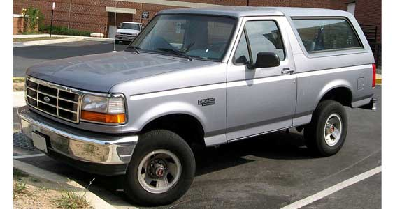Ford Bronco Car Model