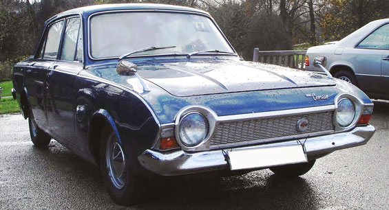Ford Corsair Car Model