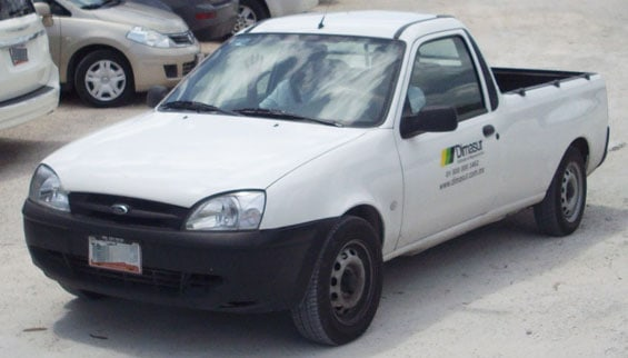 Ford Courier Car Model