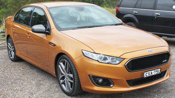 Ford Falcon Car Model
