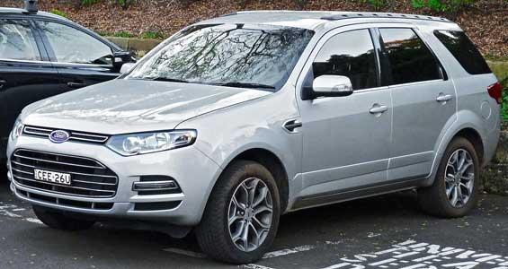 Ford Territory car model