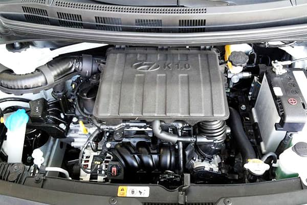 Hyundai i10 car model Engine