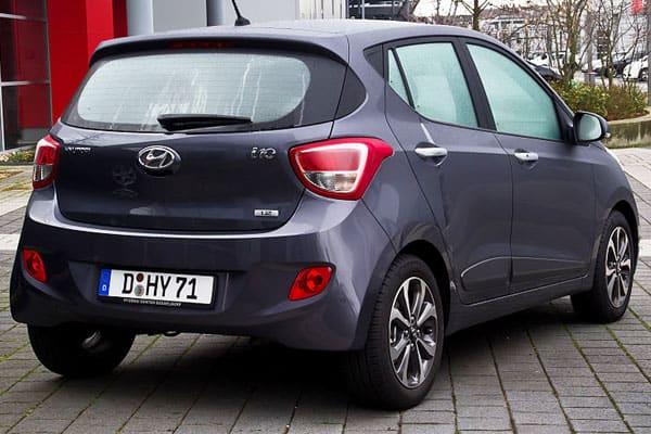 Hyundai i10 car model
