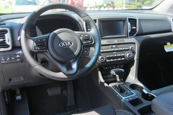 Kia Sportage car model interior