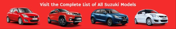 List of All Suzuki Car Models