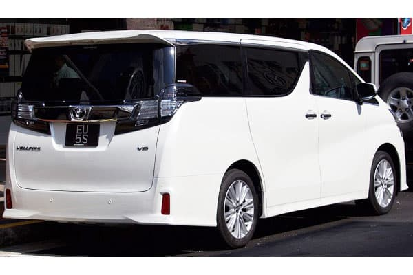 Toyota Vellfire ZA car model