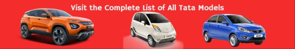 Complete List of All Tata Car Models