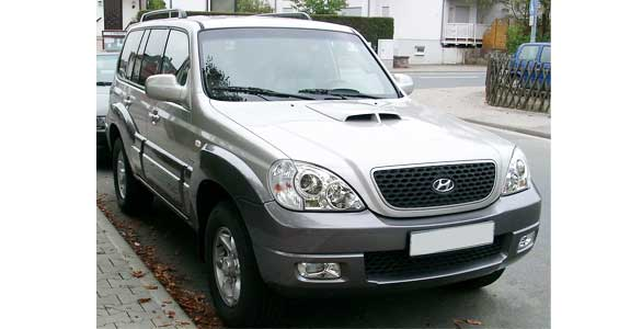 Hyundai Terracan car model