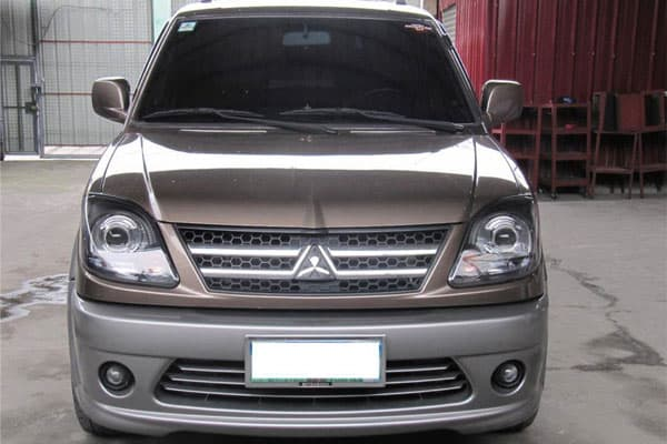 Mitsubishi Adventure Front View