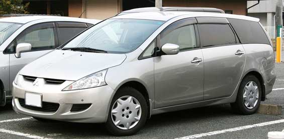 Mitsubishi Grandis car model