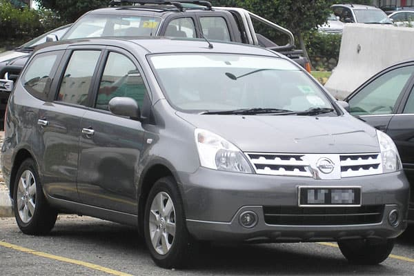 Nissan Grand Livina car model