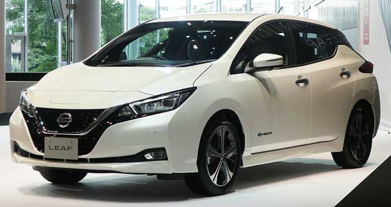 Nissan Leaf car model