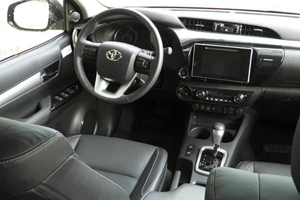 Toyota Hilux car model interior