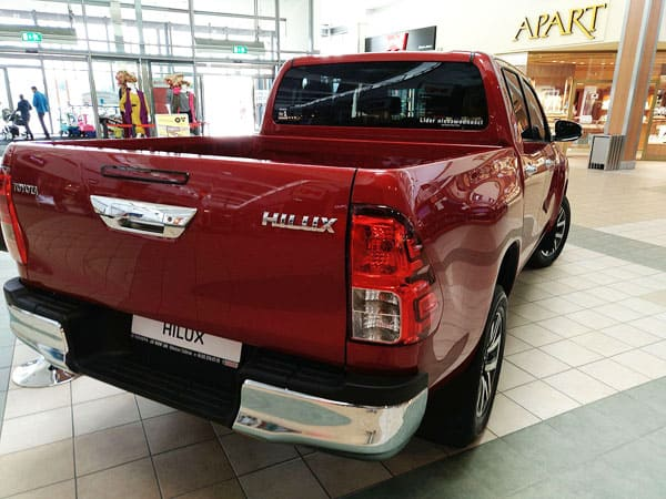 Toyota hilux car model