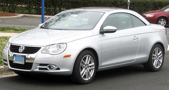 Volkswagen Eos car model
