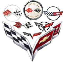 Corvette wings logo