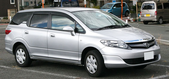 Honda Airwave Car Model