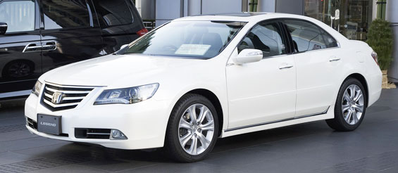 Honda Legend Car Model