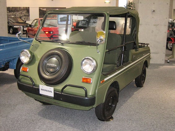Honda Vamos Car Model