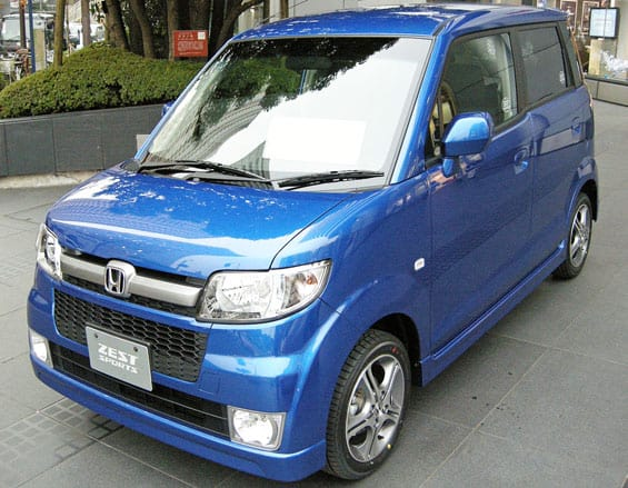 Honda Zest Car model
