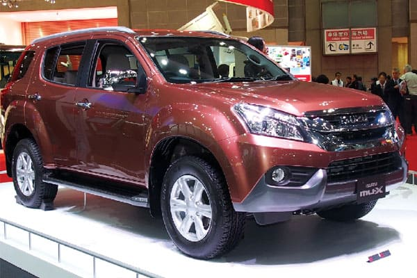 Isuzu MU-X Car Model Review