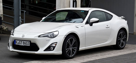 Toyota 86 car model