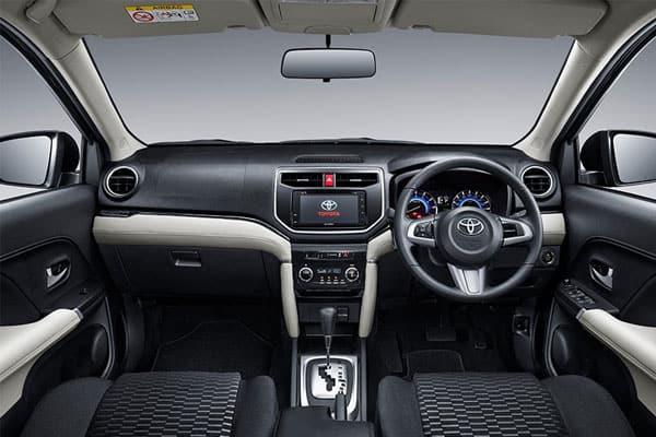 Toyota Rush Car Model Review interior