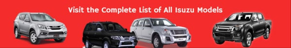 complete list of all isuzu car models