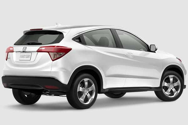 honda hr-v car model rear view
