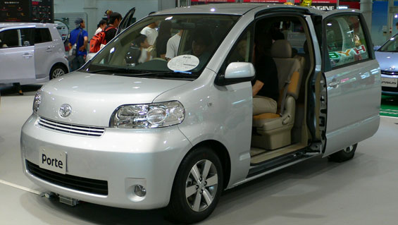 Toyota Porte Car Model