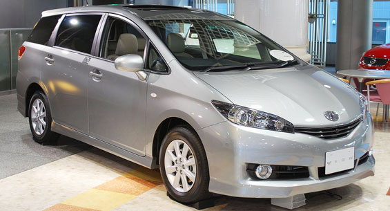 Toyota Wish car model