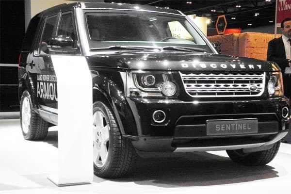 Land Rover Discovery 4 Sentinel