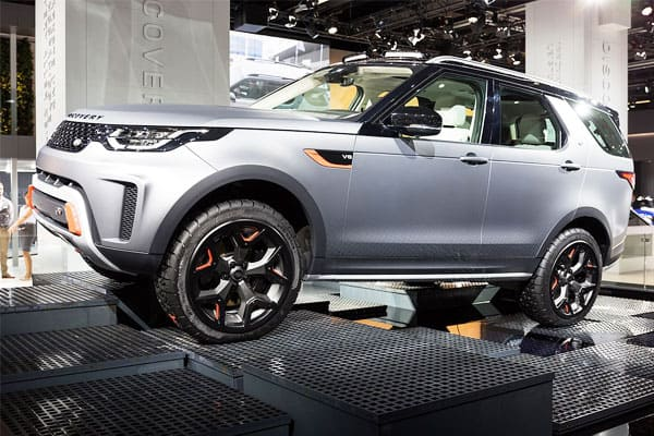 Land Rover Discovery Exterior