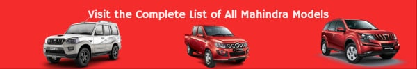 Complete List of All Mahindra Car Models