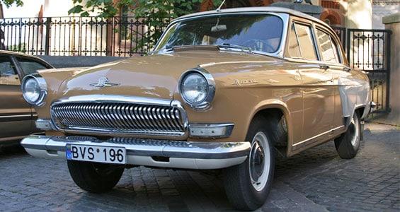 GAZ 21 Car Model