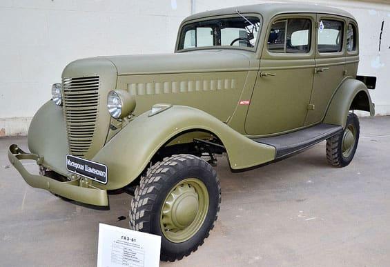GAZ 61 Car Model