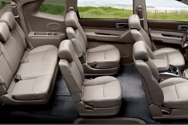 SsangYong Rodius Seating Capacity