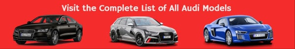 Audi List of car models