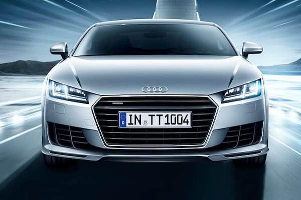 Audi TT Car Model Front View