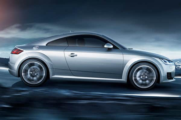 Audi TT Car Model Side View