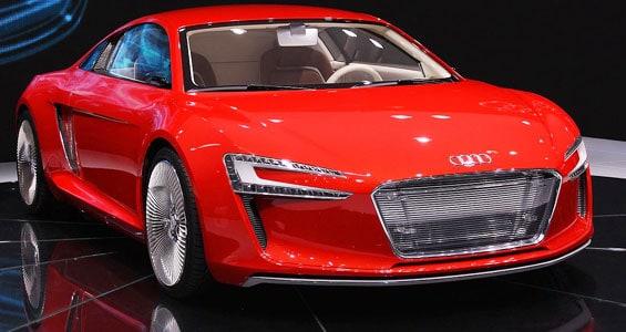 Audi e-tron Car model
