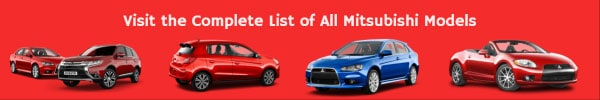 Complete List of All Mitsubishi Car Models