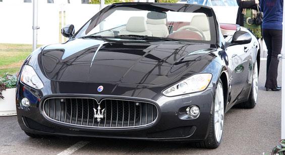 Maserati GranCabrio Car Model