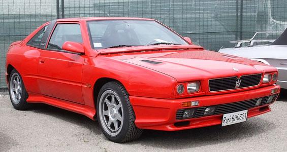 Maserati Shamal Car Model