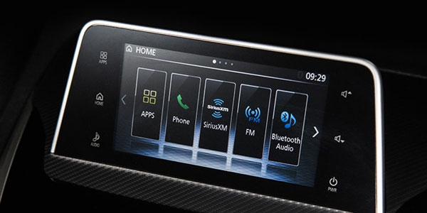 Mitsubishi Eclipse Cross audio system