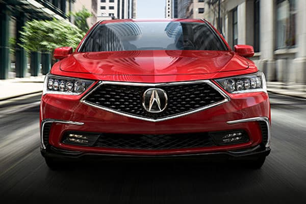 acura rlx model front view